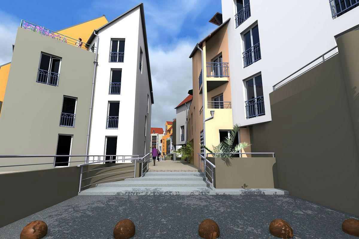 Architecte Paris Branchu Projet Architectural Conception B Timent Melun Sens